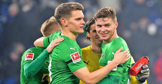 Le Borussia Mönchengladbach: Anglais chasser Ginter et Elvedi
