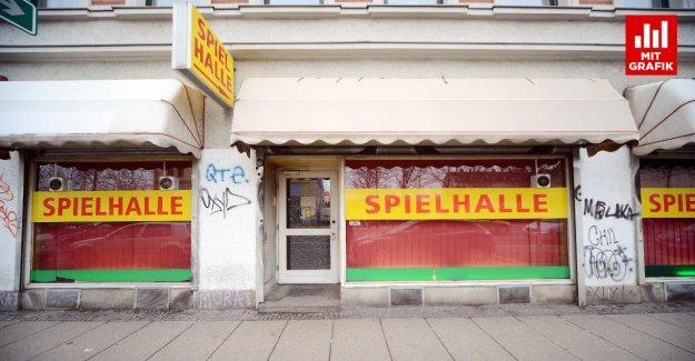 Leipzig Eisenbahnstrasse: un Seul des 19 Casinos est légal