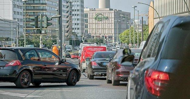 Les embouteillages dans les Villes allemandes: Berlin, Leader du classement général, derrière Munich
