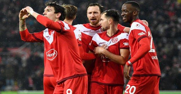 L'humilité à Düsseldorf: Fortuna, seuls les Fans de l'Europe rêver!