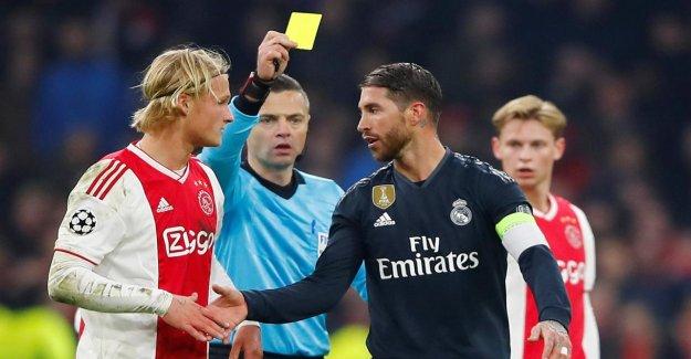 Ligue des Champions: Sergio Ramos encaissé avec un but, carton jaune!