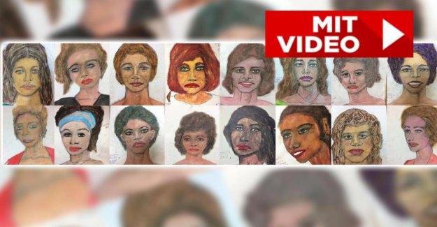 Meurtres inexpliqués: US-Tueur en dessine les Portraits de ses Victimes