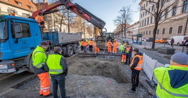 Munich: Après le Trou d'Alarme: Prinzregentenstraße est à nouveau libre
