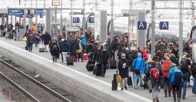 Munich: Ouvriers découvrir la Baie: le S-Bahn à tomber