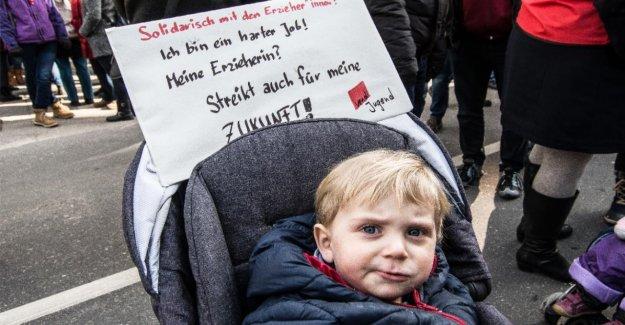 Service public – sont en grève aujourd'Hui à Berlin, presque TOUS (à l'exception de la LPP)!