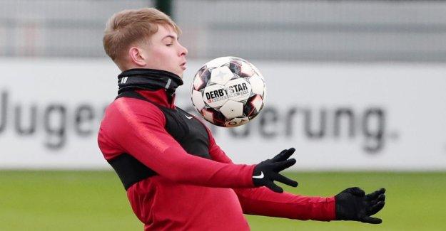 Smith Rowe, pour la première fois au Ballon: Millions de Talent lors de RB Leipzig los