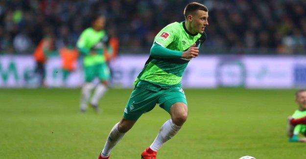Werder Brême: un Anniversaire, un Maillot de Fan poursuit Maxi Eggestein