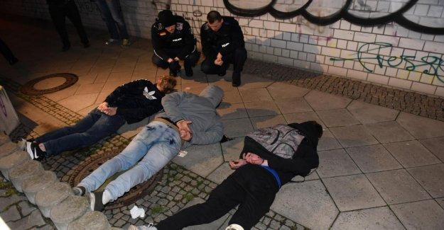 À Berlin, la Police attrape le Cambrioleur en flagrant