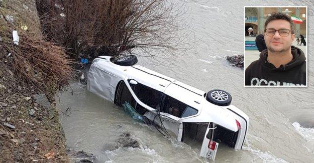 Après un Accident de voiture: StudiVZ, Fondateur de la sauve deux Iraniens de la Vie