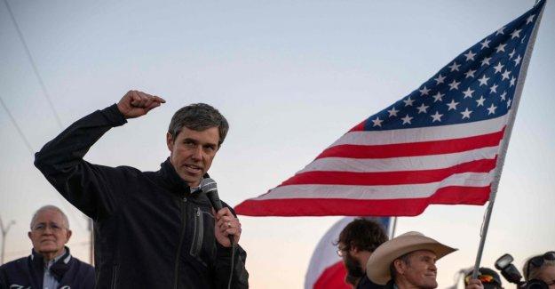 Autre Démocrate dans la Course: Beto O'Rourke veut contre Trump se présenter aux élections