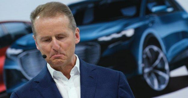 Ebit rend libre: VW-Chef de Diess s'excuse pour le choix des Mots