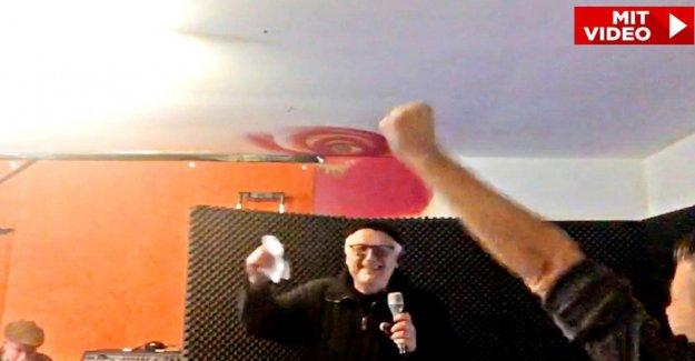 Ex-Kunstberater une Rock star: Helge Achenbach y a le Rammstein!