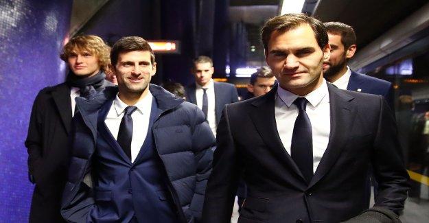Federer et Djokovic sont pas sur la même longueur d'Onde - Vue