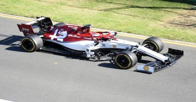 Formule 1: 1. Qualification de la Saison en Australie, à Hamilton, en Vue