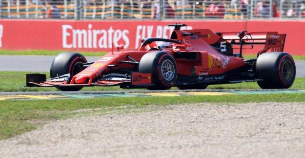 Formule 1 en Australie: Sebastian Vettel perd de Qualification contre Lewis Hamilton