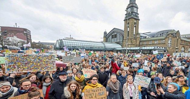 Fridays for Future: 7000 Participants de la ville de Hambourg lors de la Démo