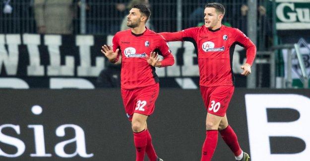 Gladbach - Fribourg 1:1: Ex-Borusse Grifo vole Gladbach Points