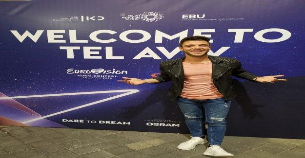 Luca Hänni explore Eurovision-Israël, pays Organisateur, déjà pré - Vue