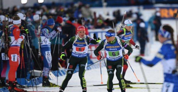 Mixte Simples lors de championnats du monde de Biathlon: Herrmann verballert prochaine Médaille
