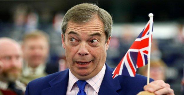 Nigel voici sa Secret-Plan: se Bloque en Italie, les Britanniques au Brexit Chaos?