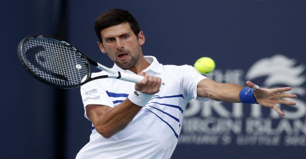 Novak Djokovic revient – «Était frustré à cause de Federer!»