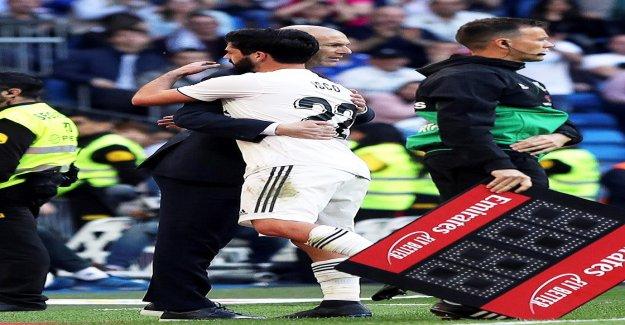 Primera Division: Zidane réussit royal Entraîneur-Retour - Vue