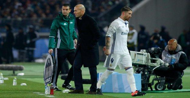 Real Madrid: Zinedine Zidane a Quitté le Club en raison de Sergio Ramos?