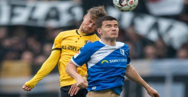 Röser sauve: Dynamo Dresde, avec Somnolence-Point contre Magdeburg