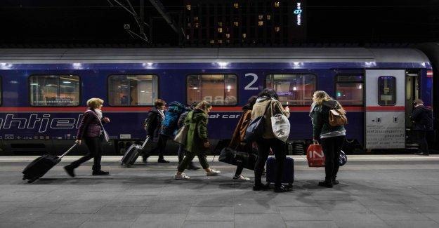 Train de nuit-la Conduite est en plein essor: Les Autrichiens sont les Leaders du marché - Vue