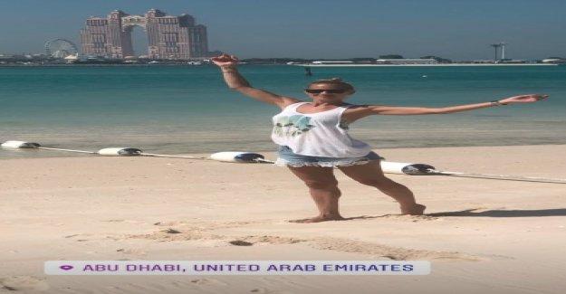 Vacances dans le Luxe, le Secteur de: Famille Rigozzi exhibe à Abou Dhabi, une Vue