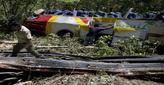 Au moins 25 Morts dans l'Accident de bus en Bolivie, Vue