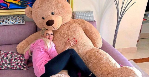 Daniela Katzenberger: XL-Teddy fait le Chat wuschig