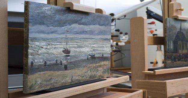 Deux tableaux de Van Gogh Œuvres à nouveau au Musée - Vue