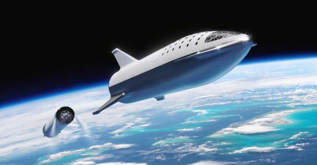 Elon Musk veut des ailes de dragon à son Vaisseau spatial de monter - Vue