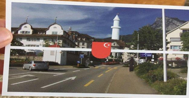 Expéditeur condamnés à de Faux Islam-Flyer de Schwyz, l'envoi de Vue