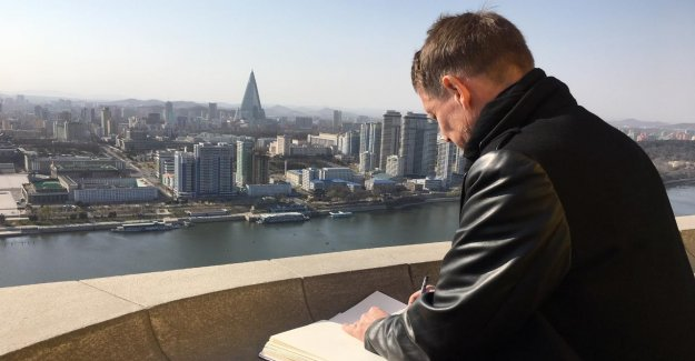 Fischer-Art en Corée du nord: Il a même été contrôlés, ce qu'il peint