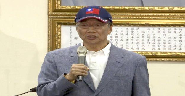 Foxconn-Patron veut le Président de Taiwan - Vue