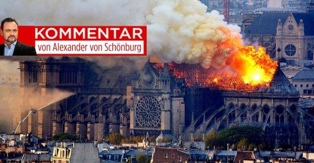 IMAGE-Commentaire de Notre-Dame: Pourquoi plus de brûlait comme un seul Bâtiment