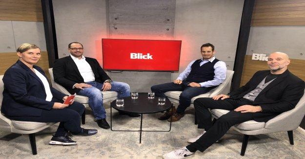 La VUE de Hockey sur Talk pour la Finale des Play-offs avec les Pêcheurs et Bührer