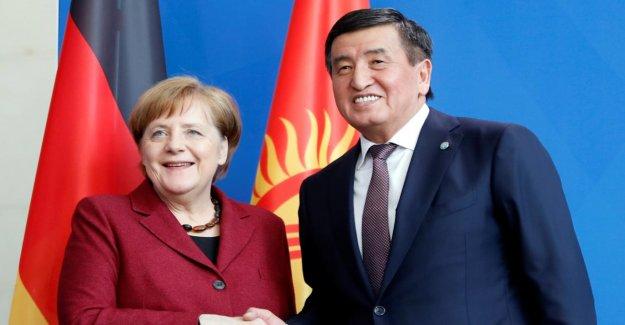 Le kirghizistan, le Président de Jeenbekov à Berlin: Que veut Merkel, de ce de Poutine Ami?
