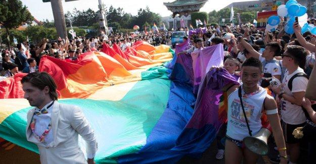 Le premier pays en Asie: Taiwan reconnaît les Couples de même sexe à