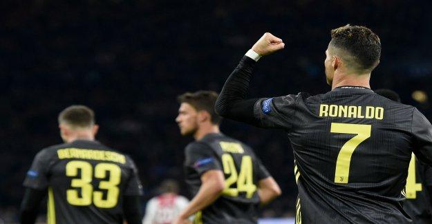 Ligue des Champions: l'Ajax Joueurs craignent que Ronaldo - Vue