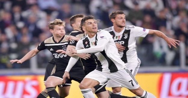 Ligue des Champions: la Juve vole contre l'Ajax à partir de la catégorie Reine - Vue