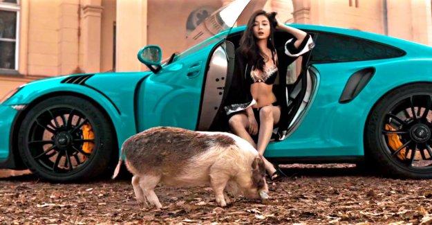 Lingerie Model Melissa Minh pouvoir Rappeur Kontra K pour Clic-Millionnaire