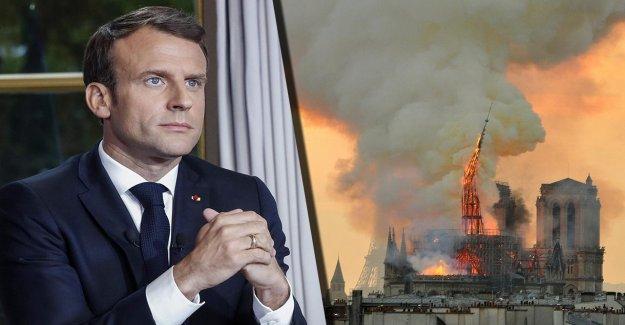Macron: Nous mettons en place Notre-Dame, dans un délai de cinq Ans à