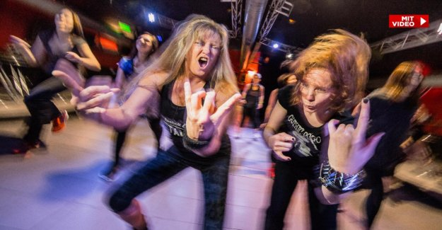 Marburg: PHOTO-Journaliste teste Metal-Fitness: il suffit Simplement de s'emballent