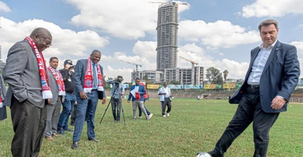 Markus Söder en Ethiopie: un Grand Espoir est-à-dire de Football et de Café