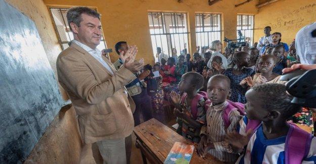 Markus Söder: le Bayern y a 100 000 Euros pour les Écoles d'Ethiopie