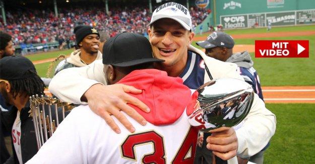 NFL: Rob Gronkowski fait du Super Bowl de la Coupe de la panne