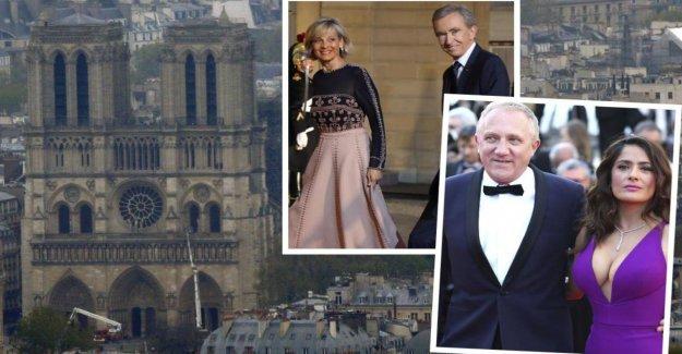 Notre-Dame: le Feu à Paris. Cette France-Milliardaires dons maintenant, pour la Construction